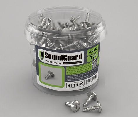 Саморезы SoundGuard с буром 4,2х13